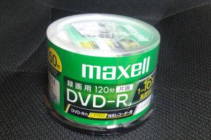 DVD-R50枚入り購入