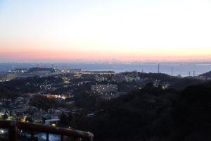 鷹取山からの初日の出