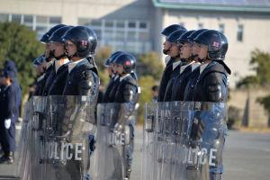 神奈川県警察歌斉唱