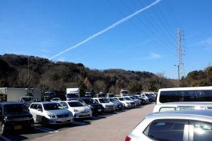 横須賀PAは8割方の駐車