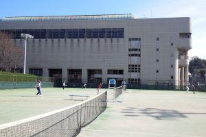 追浜公園のテニスコート