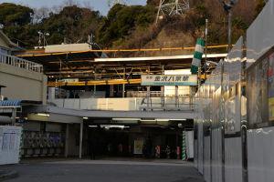 2月八景駅周辺大きな変化なし