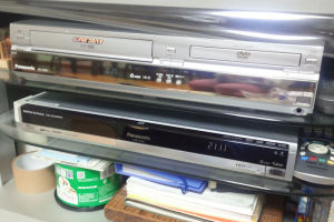 VHSテープをDVDにダビング