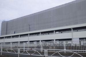 建設中のアピタ金沢文庫店