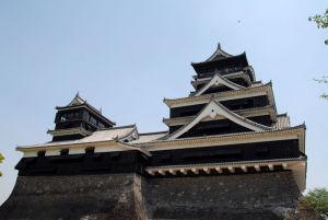 熊本城まできました