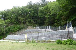 野島公園内津波避難施設