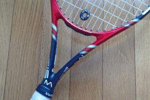 テニスラケット振動止め