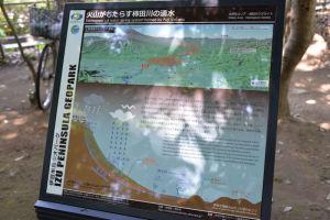 柿田川湧水の説明