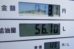 肝心のガソリン価格は