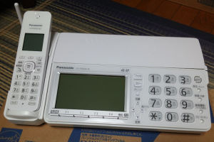 Panasonic Fax フィルム交換