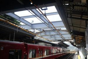 金沢八景駅ホームから