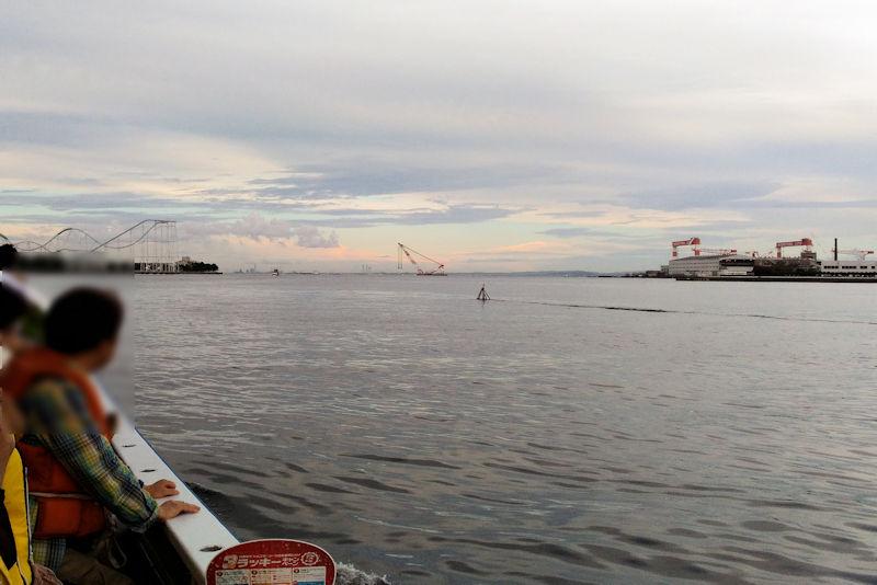 17時53分野島を出港