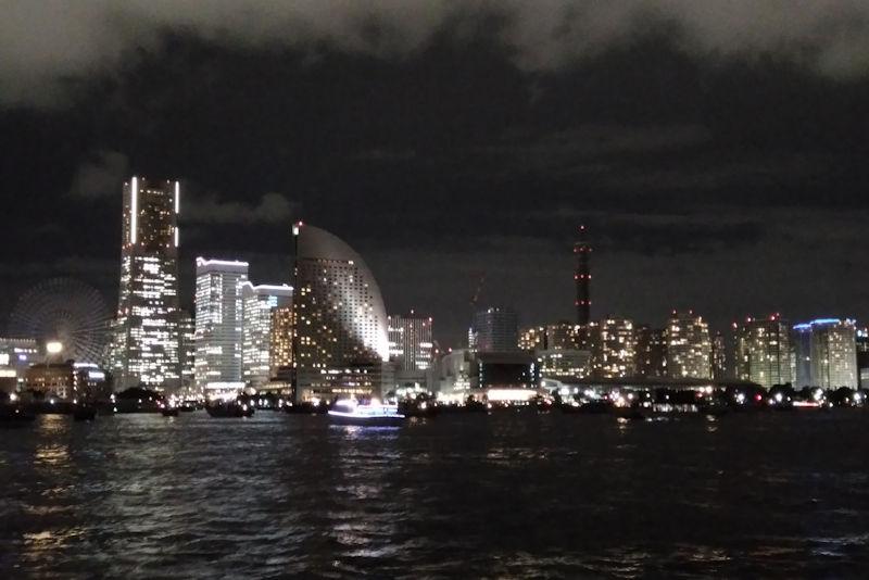 MM21の夜景がきれいです