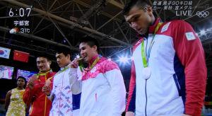 リオ五輪 大会6つ目の金メダル