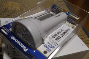 Panasonicの懐中電灯