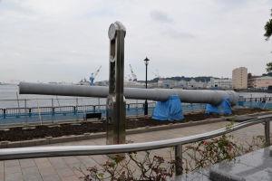 ヴェルニー公園 戦艦「陸奥」の主砲