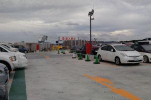 駐車場は4階と屋上で282台