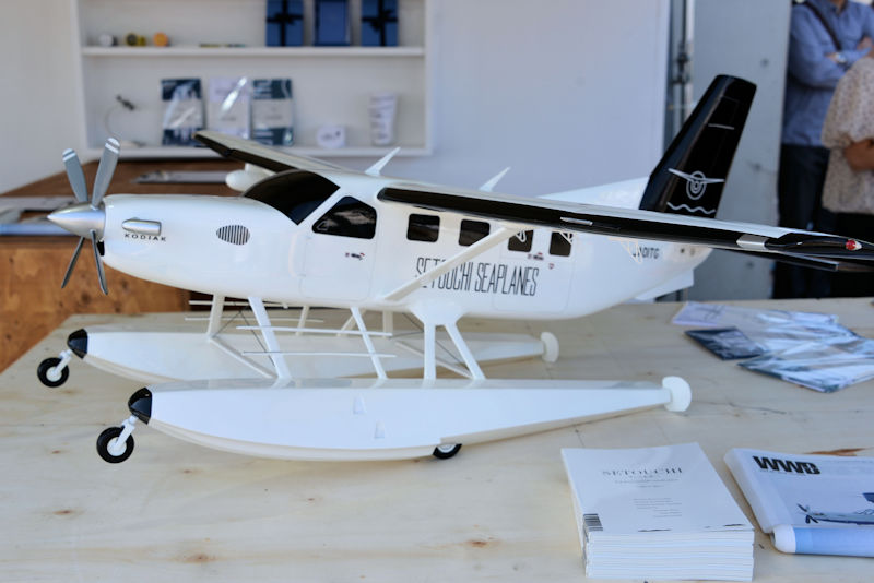 水陸両用機KODIAK100の縮小モデル