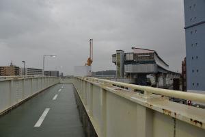 撤去される予定の歩道橋
