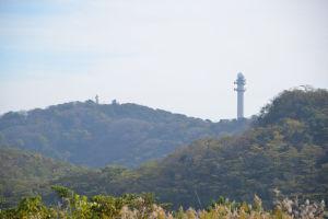 タワーはレーダ雨量観測所