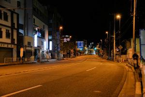 横須賀方面、午前1時58分