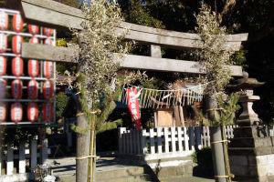 近くの神社へお参り