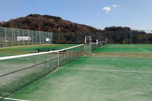 湘南国際村初テニス