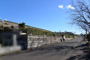 お墓は霊園の少し高台にありました