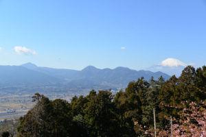 ポコポコとした山は金時山