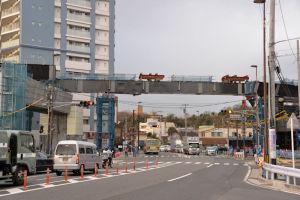 SSライン延伸 16号橋桁架設工事-1