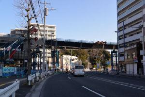 SSライン延伸 16号橋桁架設工事-2