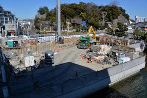 2月15日の工事現場の写真