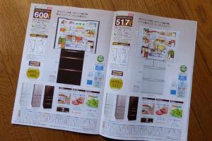 冷蔵庫の価格推移