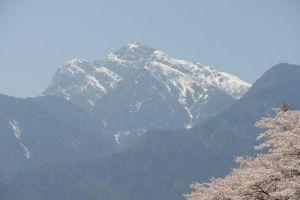 甲斐駒ヶ岳もよく見えていました