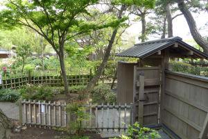 「ぼたんまつり」庭園入口