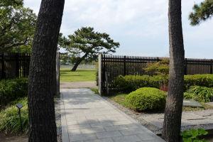旧伊藤博文金沢別邸の正面入口内