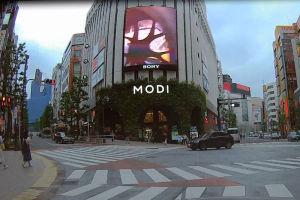 渋谷神南1の交差点