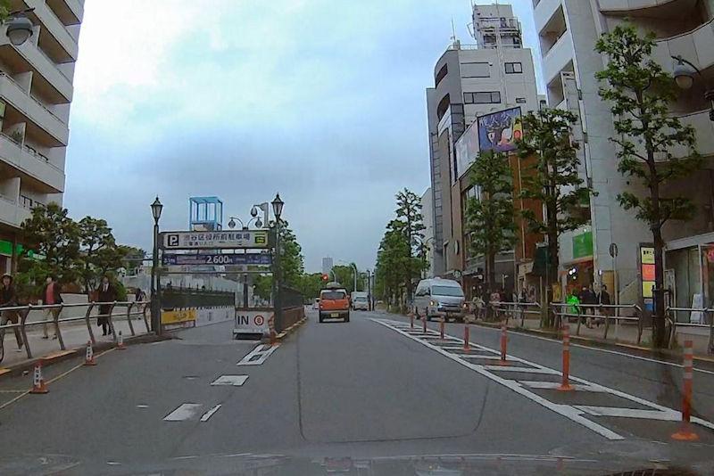 渋谷区役所駅前駐車場