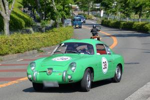 38番 FIAT ABARTH 750 ZAGATO 1957年