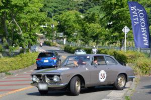 56番 ALFA ROMEO GIULIA SPRINT GTV 1966年