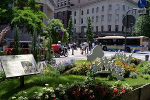 札幌市の花壇