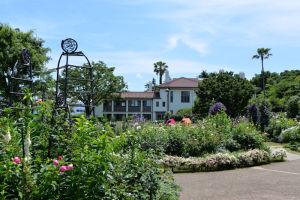 イギリス館の中庭