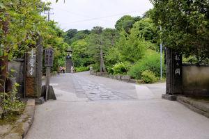 東慶寺の入口