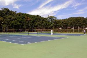 富岡総合公園テニスコート