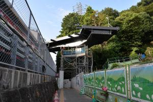 京急八景駅の西側