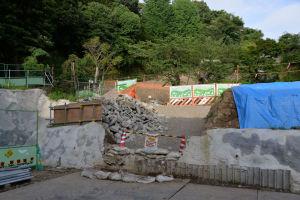 工事中の八景西公園