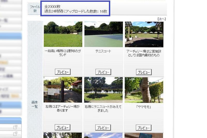 ブログ投稿写真2万枚