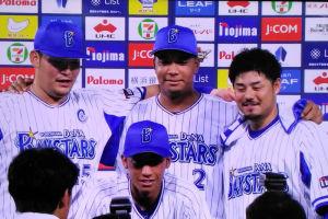 4選手ともいい表情