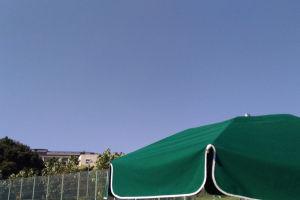 秋の湘南国際村テニスコート
