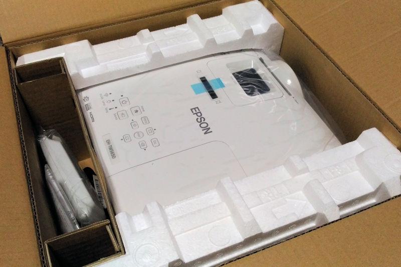 EH-TW5650とリモコン